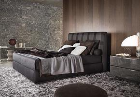 Powell Bed Leather