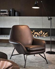 Prince Armchair Leather