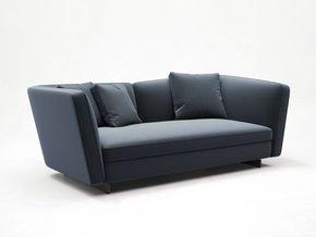 Seymour Low Sofa 2 Seater Fabric