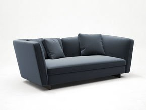 Seymour Sofa Mix 2 Seater Leather