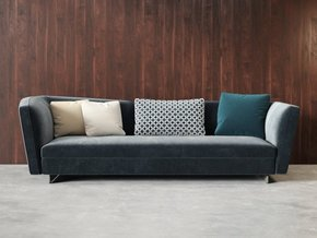Seymour Sofa Mix Leather 3 Seater