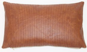 Leather Lines Pillow #107