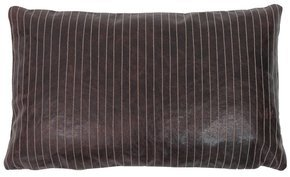 Leather Lines Pillow #108
