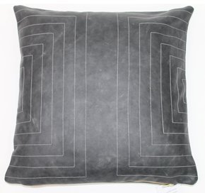 Leather Streams Pillow #109