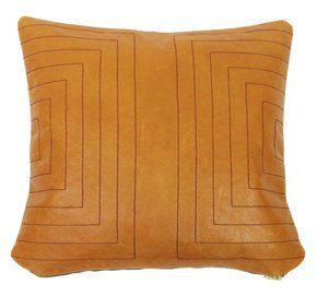 Leather Streams Pillow #110