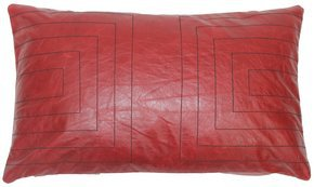 Leather Streams Pillow #111