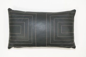 Leather Streams Pillow #112