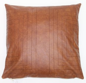 Leather Streams Pillow #113