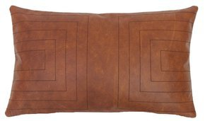 Leather Streams Pillow #114