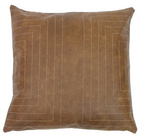 Leather Streams Pillow #115