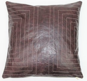 Leather Streams Pillow #117