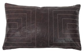 Leather Streams Pillow #118