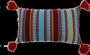 Lines Tassel Pillow #125