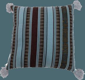 Lines Tassel Pillow #127