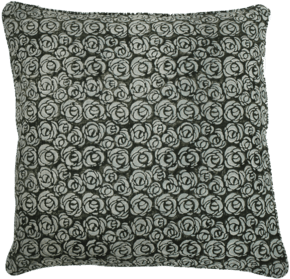 Rose Pattern Pillow #198
