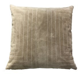 Suede Streams Pillow #209