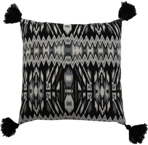 Symmetrical Tassel Pillow #211