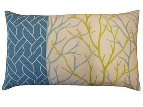 Tree Pieces Pillow #220
