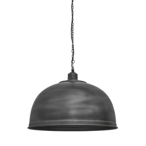 Brooklyn Giant Dome Pendant - 23.5 Inch - Pewter
