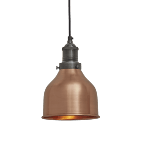Brooklyn Cone Pendant - 7 Inch - Copper