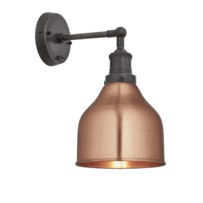 Brooklyn Cone Wall Light - 7 Inch - Copper