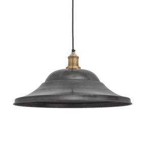 Brooklyn Giant Hat Pendant - 21 Inch - Pewter