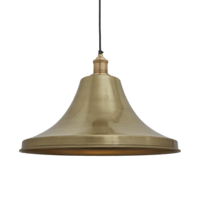 Brooklyn Giant Bell Pendant - 20 Inch - Brass