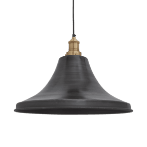 Brooklyn Giant Bell Pendant - 20 Inch - Pewter