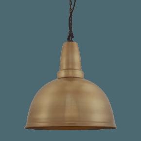 Retro Large Pendant - 17 Inch - Brass