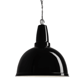 Retro Large Pendant - 17 Inch - Black