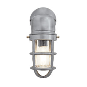 Bulkhead Sconce Wall Light - 12 Inch - Gunmetal