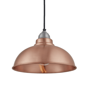Old Factory Pendant - 12 Inch - Copper