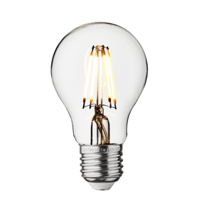 Vintage LED Edison Bulb Old Filament Lamp - 5W E27 Classic A60 - Clear