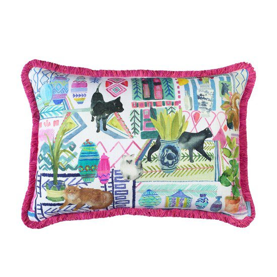 Cats cushion front 1500