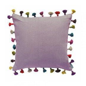 Blush Tassel Cushion