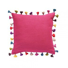 Lipstick Tassel Cushion