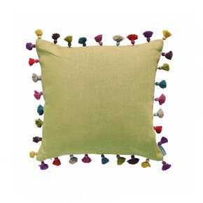 Lemon Drop Tassel cushion