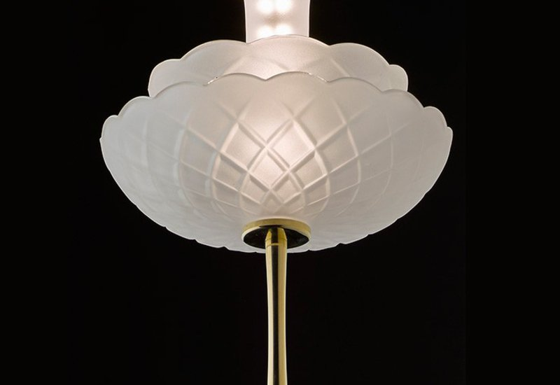 Vintage ray ceiling lamp cryst treniq 2