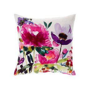 Anemone Ecru Cushion