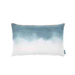 Teal Landscape Cushion