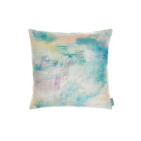 Impressionist Teal Cushion