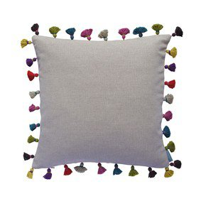 Linen Tassel Cushion