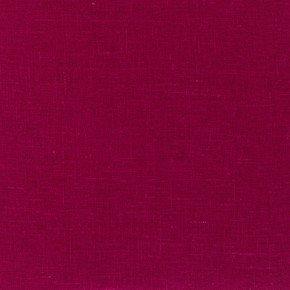 Cerise Linen Fabric