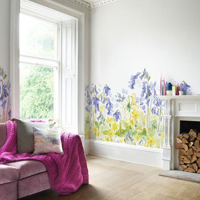 Bluebell Woods Mural Wallpaper (9m)