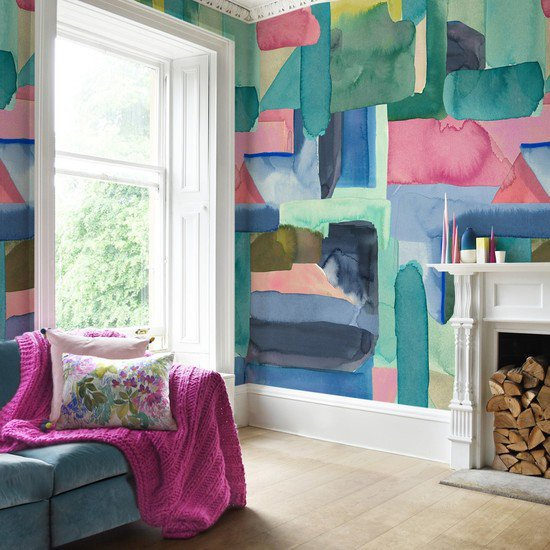Colourist wallpaper full room 1500