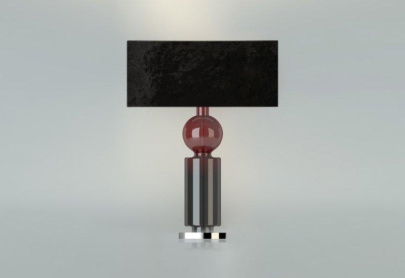 Ball cylinder table lamp klove studio treniq 1