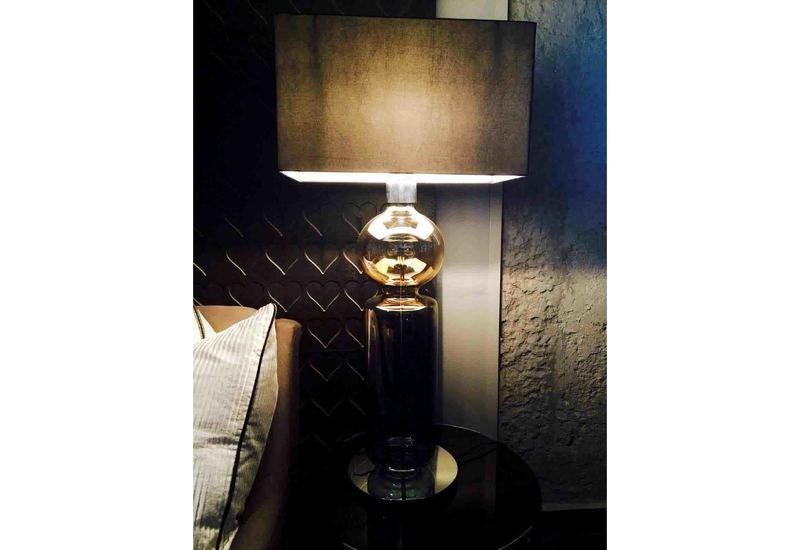 Ball cylinder table lamp klove studio treniq 2