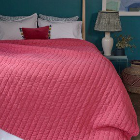 Lipstick Relaxed Washed Quilt