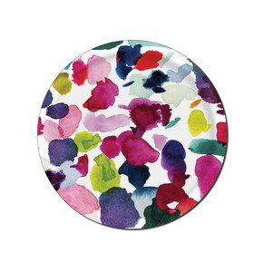 Abstract Circular Trays