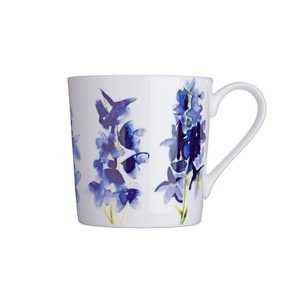 Fine China Delphinium Mugs